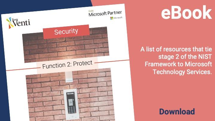 NIST Framework Protect sercurity