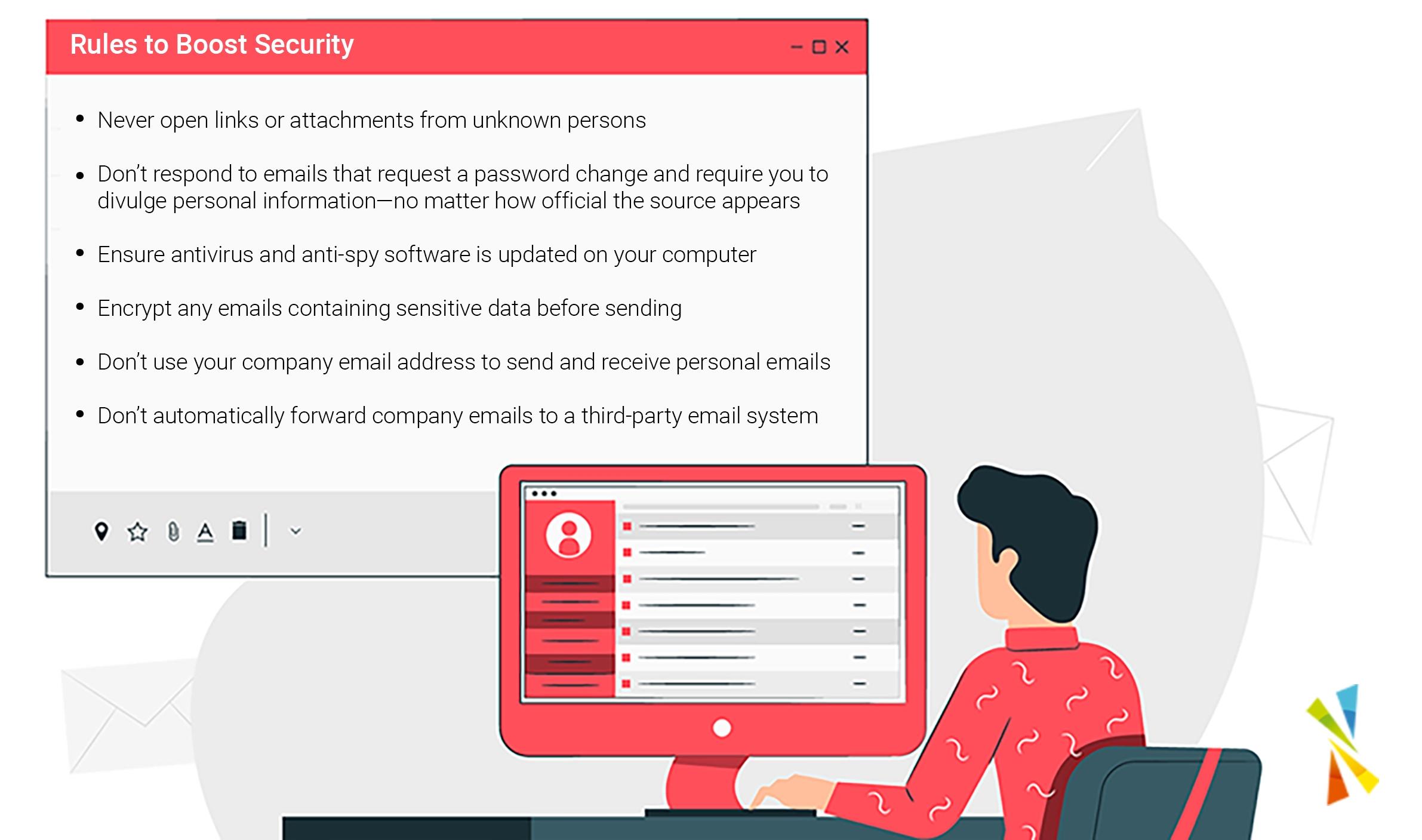 Secure email Team Venti