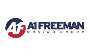 The logo of A1 Freeman a brand that trust in Team Venti