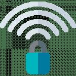 Wi-Fi lock, secure connection, Team Venti