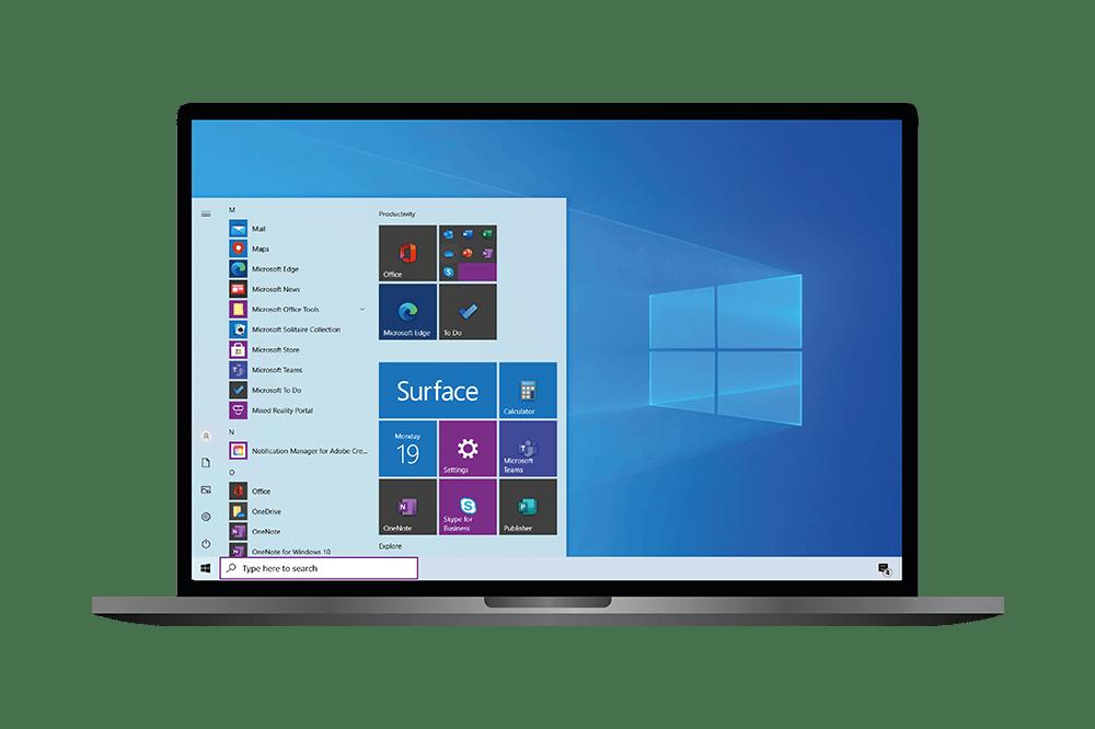 Windows 10 deployment enterprise services in an end-user computing