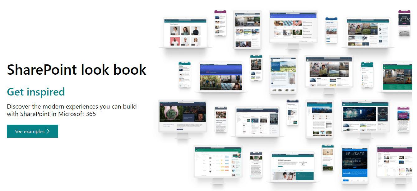 SharePoint look book - Team Venti