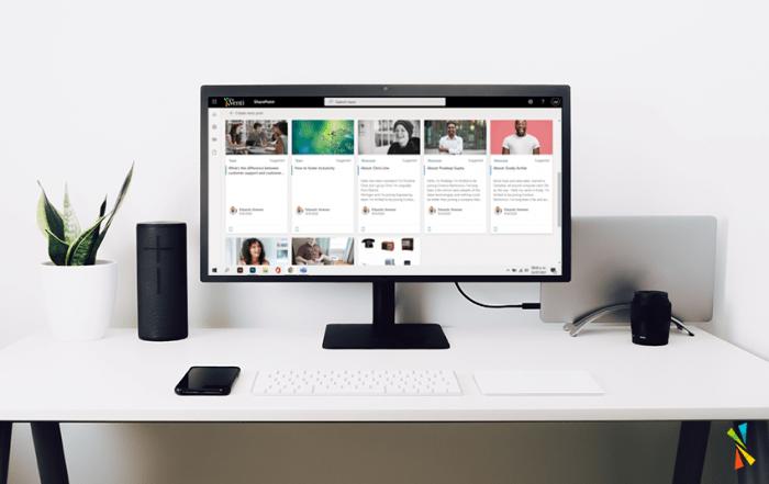 Benefits of Microsoft SharePoint blogpost header by Team Venti